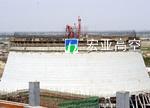 山东谷神公司热电厂3000m2冷却塔新建施工
