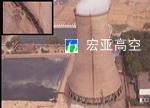 南山热电厂冷却塔墙壁裂缝修补工程