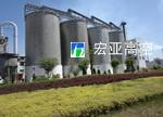 内蒙古千峰水泥厂水泥筒仓工程